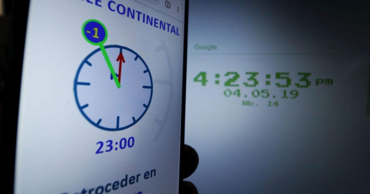 Cambio de hora: cuándo es y cómo enfrentarlo en cuarentena